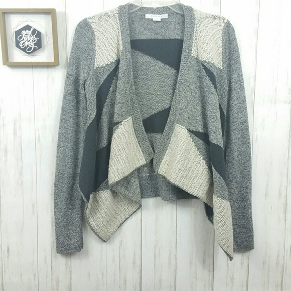 ee25deb350f25f Duffy Sweaters | Wool Knit Mesh Waterfall Cardigan Size S | Poshmark